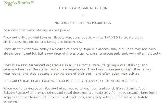 veggiebiotics