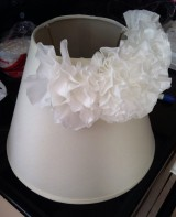DIY Anthro-Inspired Coffee Filter Lamp Shade